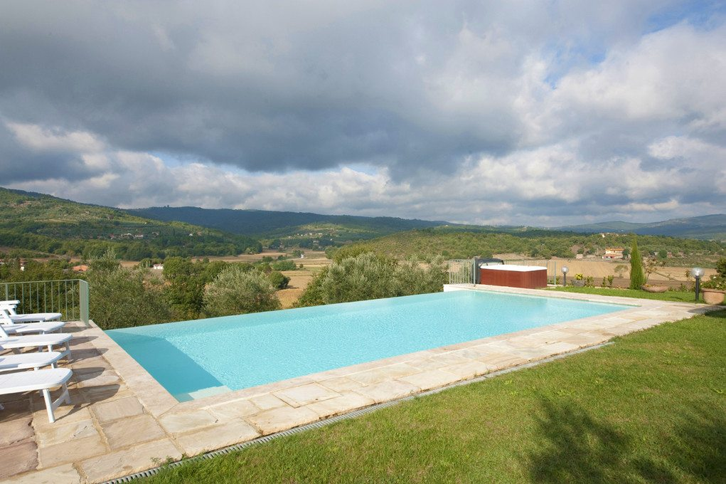 Villa with private swimming pool Tuscany Arezzo Siena Chianti